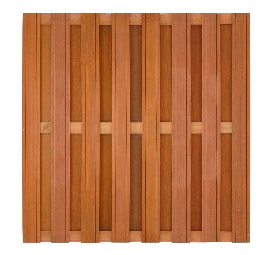 Fence panels hardwood