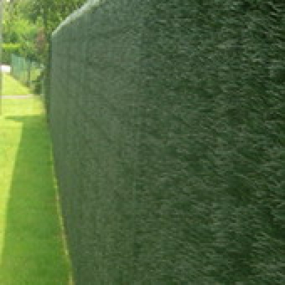 Image of Artificial hedge fence