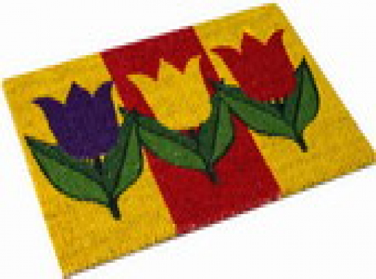 Intergardshop.co.uk: Doormat Tulip colourful